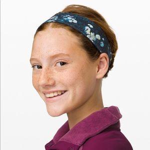 NEW LULULEMON Girls 2-in-1 Reversible Headband